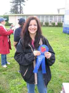 Laura Anne wins Blue Ribbon